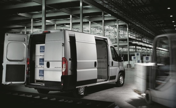 Peugeot Boxer: volume charge longueur utile