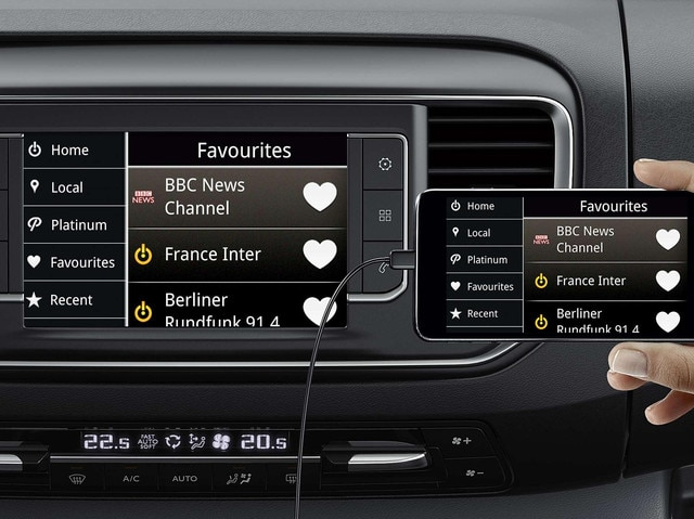 Peugeot Expert - Mirror Screen