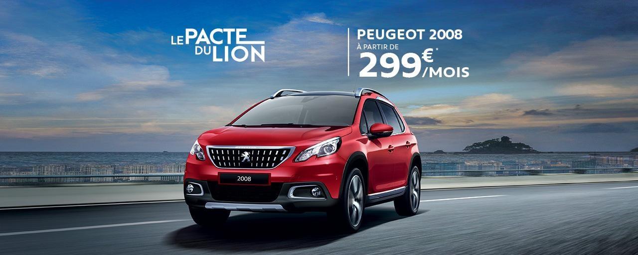 Peugeot 2008 - Pacte du Lion