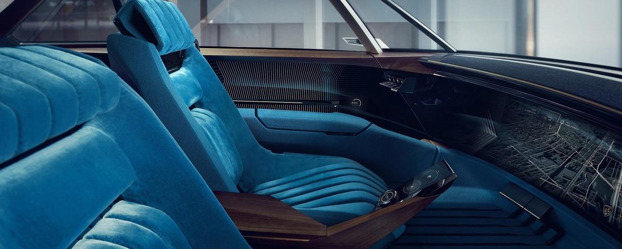PEUGEOT i-Cockpit: AUTONOMOUS SHARP MODE
