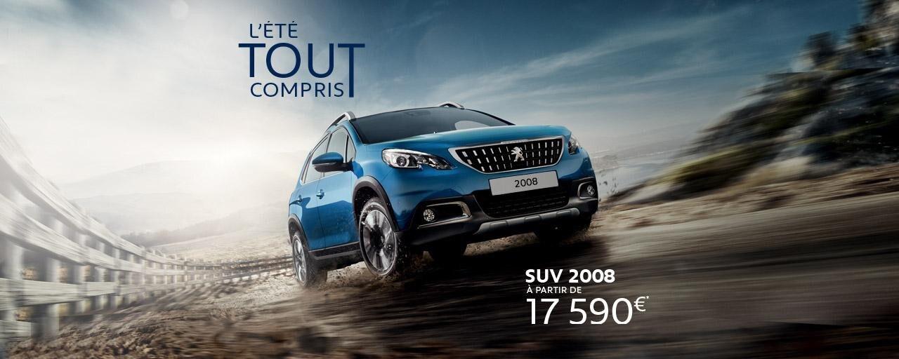 L'été tout compris Peugeot 2008