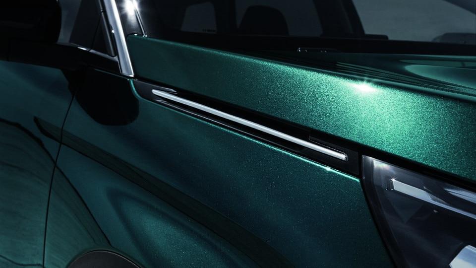 Nouveau SUV PEUGEOT 5008 : Barres aluminium