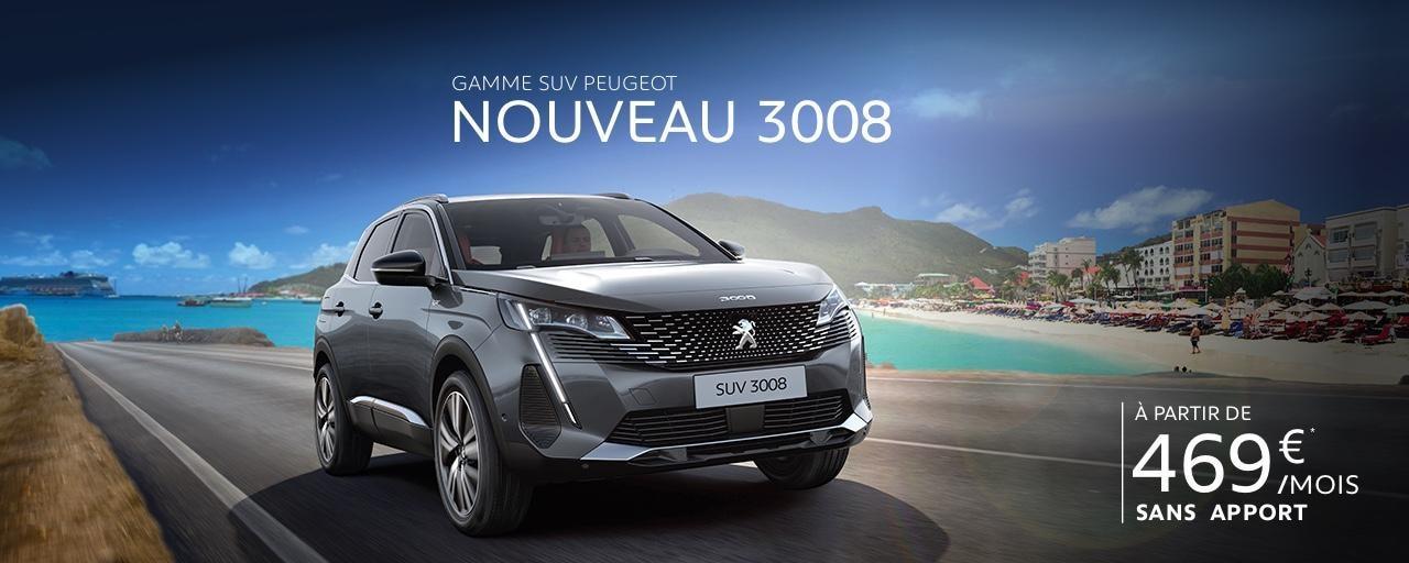 Nouveau SUV 3008