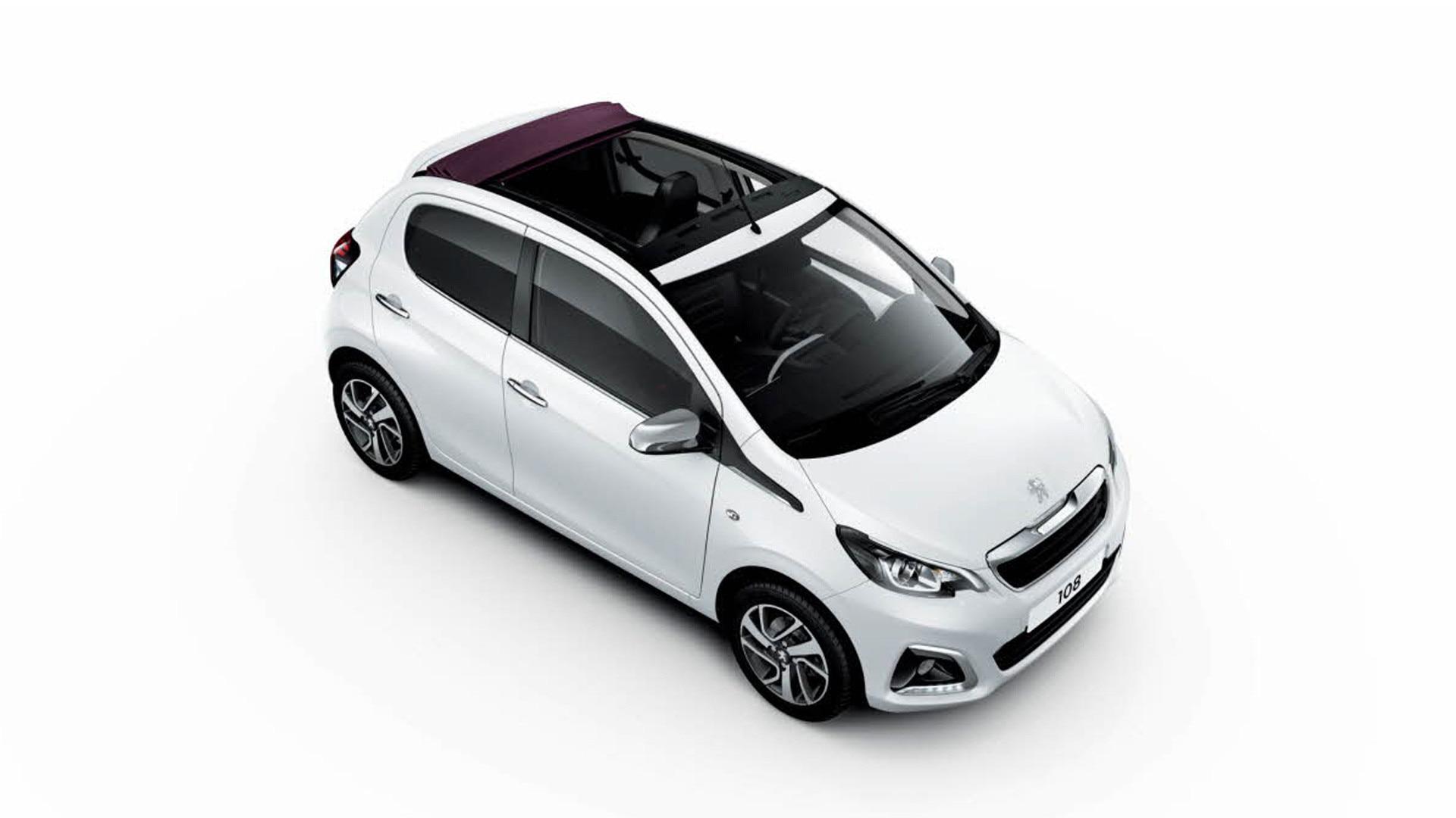 Peugeot Portes Photos Et Vidéos De La Voiture Citadine Peugeot - Peugeot 108 3 portes