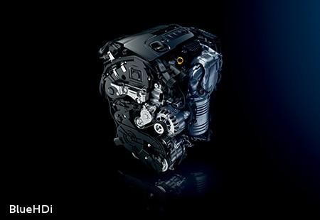 SUV PEUGEOT 3008 HYBRID4 : Moteur Diesel