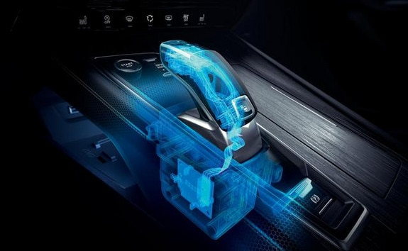 berline PEUGEOT 508, boîte de vitesses automatique EAT8 et sa commande électrique de changement de vitesse Shift and Park by wire