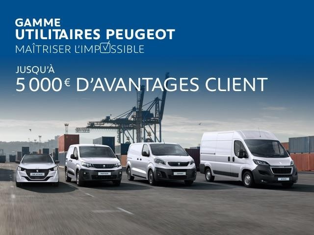 Peugeot véhicules utilitaires